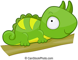 cute, iguana