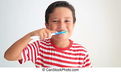 Cute kid missing teeth - Child is happy and excited to share...