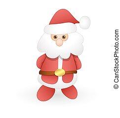 Cute Kid Santa