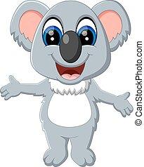 cute, koala