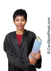 Cute lawyer girl