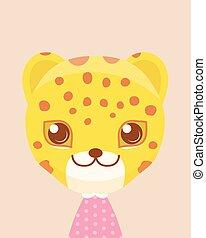 Cute leopard.