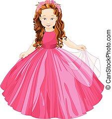 cute, lille prinsesse