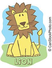 Cute Lion.