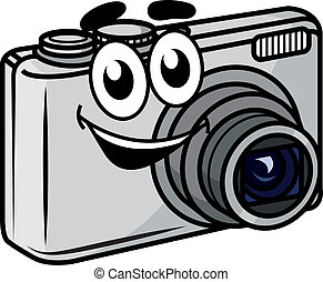 Cute little cartoon compact camera