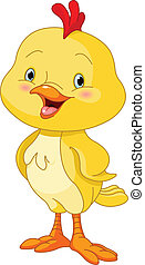 Cute Little Chick - Illustration of cute little chick