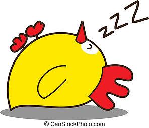 Cute little chicken
