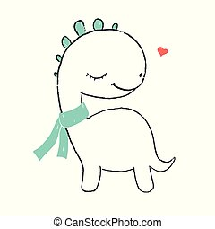 Cute little dino