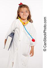 Cute little doctor