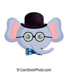 cute little elephant character