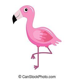 cute little flemish animal kawaii character vector illustration design