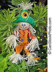 Cute little scarecrow decoration