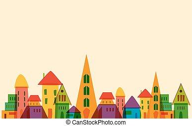 Cute little town