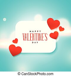 cute love hearts background for valentine's day