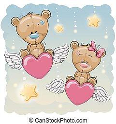 Cute Lovers Bears