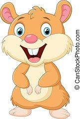 Cute mice cartoon - vector illustration of Cute mice cartoon