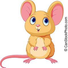 Cute Mice - Illustration of adorable mice