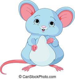 Cute Mice - Illustration of cute mice