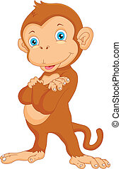 cute monkey cartoon