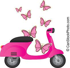 cute motorbike