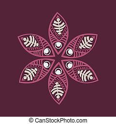Cute ornamental flower