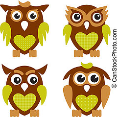 Cute Owls 2
