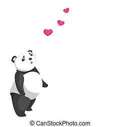 cute panda baby