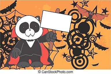 panda bear dracula costume copyspac