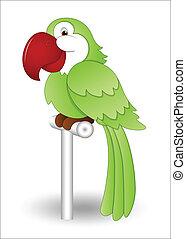 Cute Parrot - Creative Design Art of Cute Cartoon Parrot...
