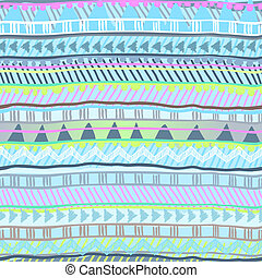 cute pastel, tribal stripe