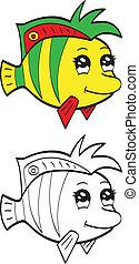 cute, peixe