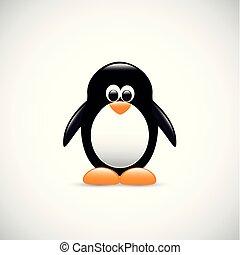 cute penguin antarctic bird