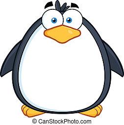 Cute Penguin Character