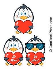 Cute Penguin Collection Set