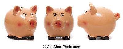 Cute piggy bank