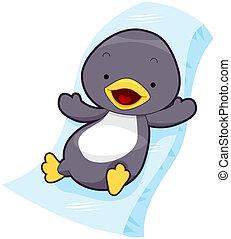 cute, pingüim