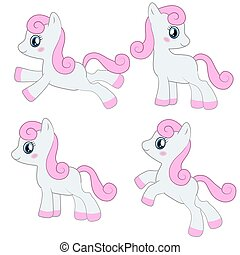 Cute pony collection