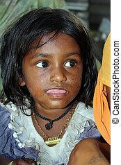 Cute Poor Girl