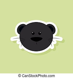Cute Puma face