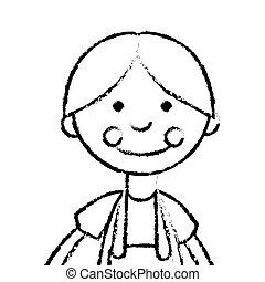 cute rag doll icon