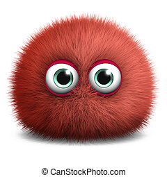 cute red bacterium