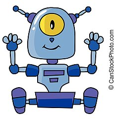 Cute Robot Design