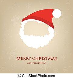 Cute Santa Claus icon