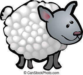 cute sheep illustration