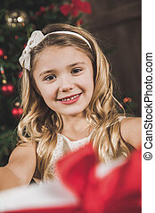 Cute smiling girl