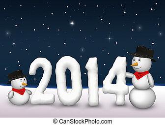 Cute Snowmen 2014