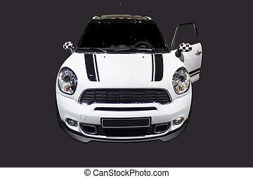 Cute sport car