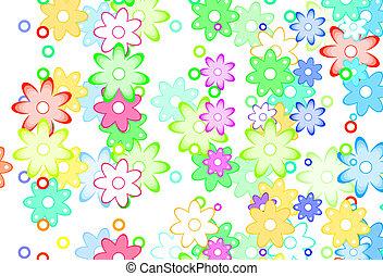 Cute spring flowers abstract cute cartoon art flowers simple color cute cartoon art flowers simple color background cute spring flowers abstract mightylinksfo