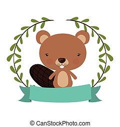 cute squirrel icon