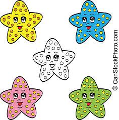 cute, starfish